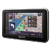Sony U73t Portable In Car Sat Nav System