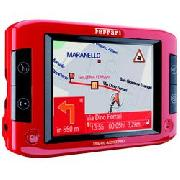 Traffic Assist Pro Ferrari 7929 Gps Navigator In Corsa Red - Europe Becker